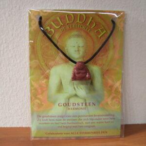 Edelsteenhanger Boeddha / grote kaart AANBIEDING
