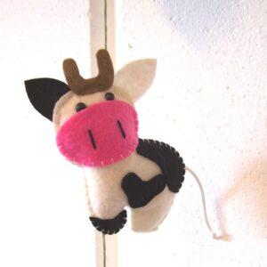 Vilt hanger koe 150 cm