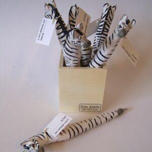 pen zebra hout