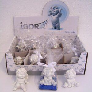 Igor engel klein zittend 5,5 cm / ass