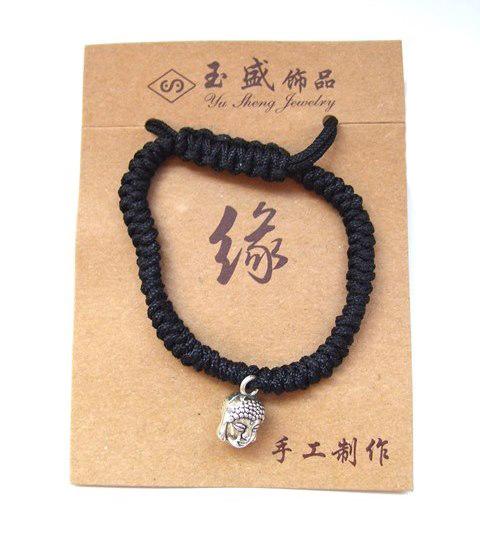 Geluks-armband Boeddha Shiva (verstelbaar)